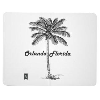 Black and White Orlando & Palm design Journal