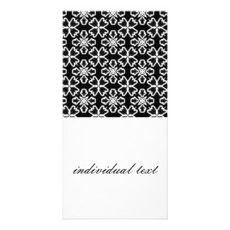 Black and White Pattern 02 Photo Cards