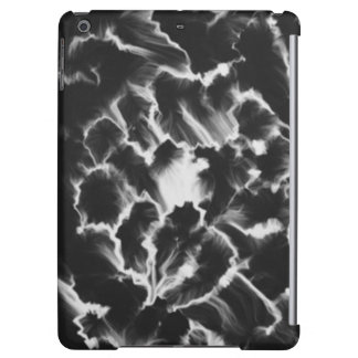 Black and white pattern cover for iPad air