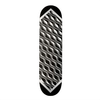 Black and White Pattern Customizable Deck w2 Custom Skateboard