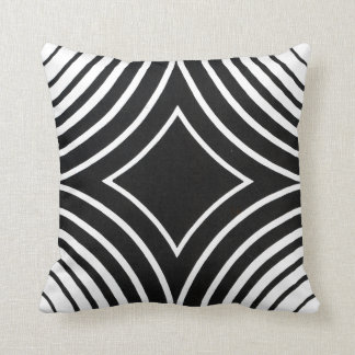 Black and White Pattern Pilllow Cushion