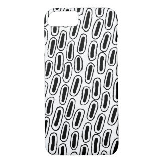 Black and White Patterned Phone Case