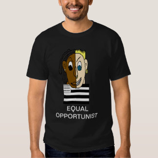 Black and White People Are Equal Tee Shirts