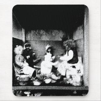 Black and white photo mousepad