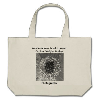 Black and White Photography by Movie Actress Ishah Canvas Bag