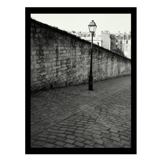 Black and White Photography of Paris Lamp Post