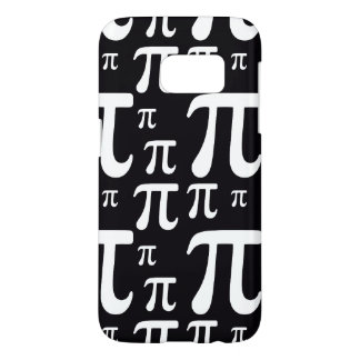 Black and White Pi Pattern