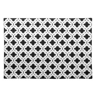 Black and White Placemat