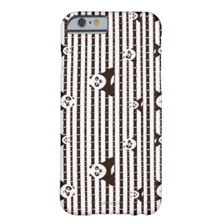 Black and White Po Pattern Barely There iPhone 6 Case