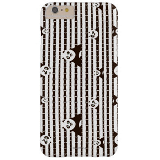 Black and White Po Pattern Barely There iPhone 6 Plus Case