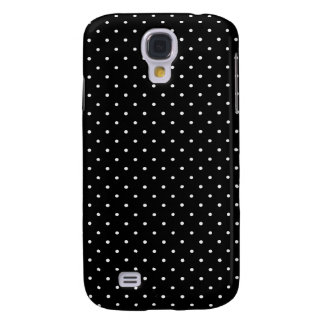 Black and white polka dot galaxy s4 case
