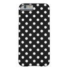 Black and White Polka Dot iPhone 6 Case