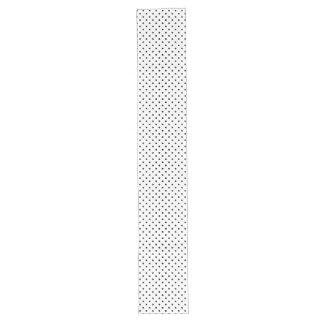 Black and White Polka Dot Pattern Long Table Runner