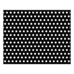 Black and White Polka Dot Pattern. Spotty. 11.5 Cm X 14 Cm Flyer