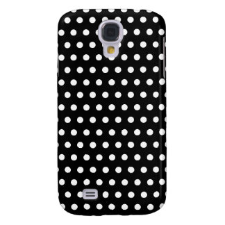 Black and White Polka Dot Pattern. Spotty. Galaxy S4 Case