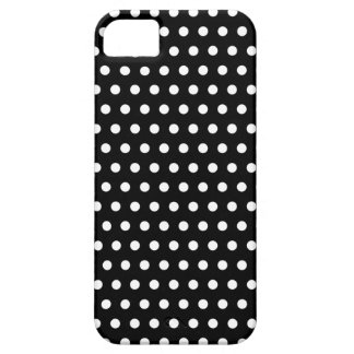Black and White Polka Dot Pattern. Spotty. iPhone 5 Case