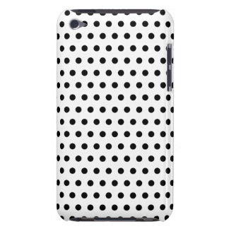 Black and White Polka Dot Pattern. Spotty. iPod Touch Case