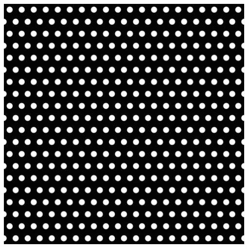 Black and White Polka Dot Pattern. Spotty. Cut Outs