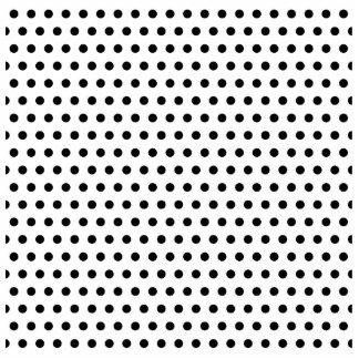 Black and White Polka Dot Pattern. Spotty. Photo Cut Outs