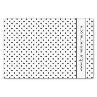 Black and White Polka Dot Tissue Paper