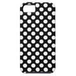 Black and White Polka Dots Case iPhone 5 Case