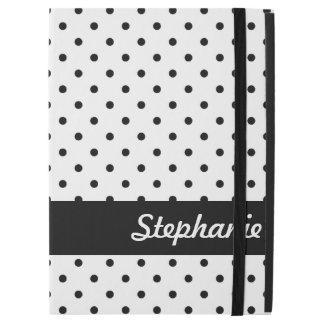 "Black and White Polka Dots iPad Pro 12.9"" Case"