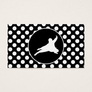 Black and White Polka Dots; Ninja