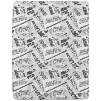Black and White Pow! iPad Cover