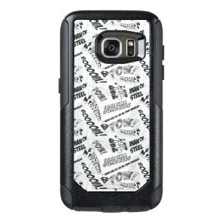 Black and White Pow! OtterBox Samsung Galaxy S7 Case