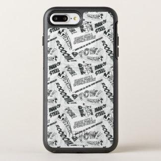 Black and White Pow! OtterBox Symmetry iPhone 7 Plus Case
