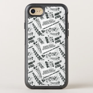 Black and White Pow! OtterBox Symmetry iPhone 8/7 Case