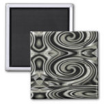Black And White Psychedelic Swirl