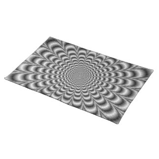 Black and White Pulse American MoJo Placemats