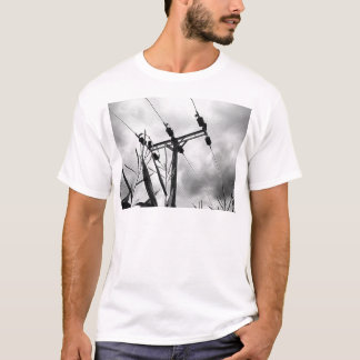 Black and white pylon T-Shirt