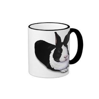 Black and White Rabbit Coffee Mugs