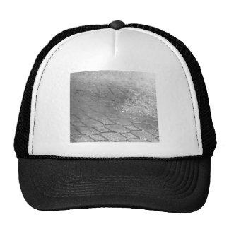 Black and White RainDrops Trucker Hats