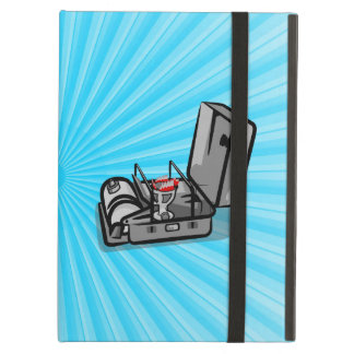 Black and White Retro Camp Stove iPad Air Cover