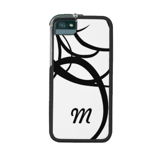 Black and White Retro Wedding Case For iPhone 5