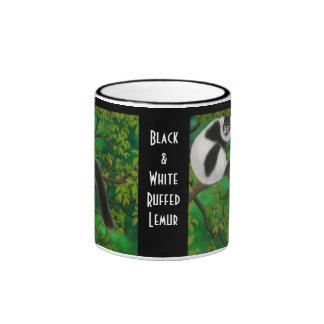 Black and White Ruffed Lemur Mug