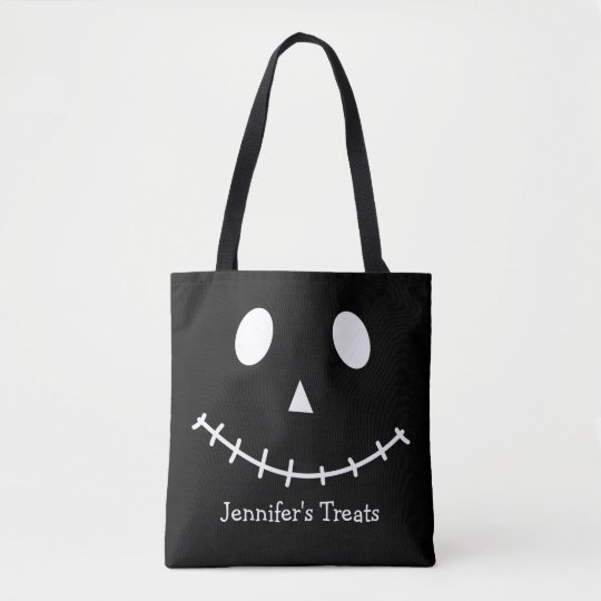 Black and White Scary Jack O Lantern Halloween