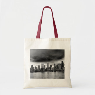 Black and white seattle bags