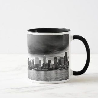 Black and white seattle mug