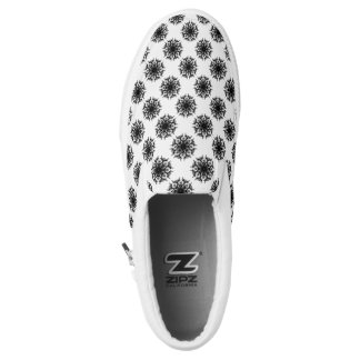 Black and white Shoes 1 Printed Shoes