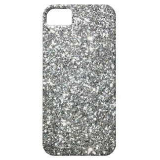 "Black and White ""Silver"" granite Pattern iPhone 5 Covers"