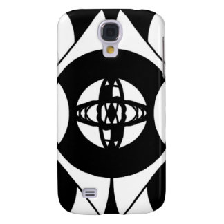 Black and White Simple Design for iPhone Case Galaxy S4 Case