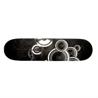 Black And White Skateboard Deck