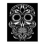 Black and White Skull /  Day of the Dead