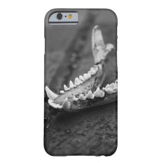 Black and White Skull - iPhone Case Barely There iPhone 6 Case