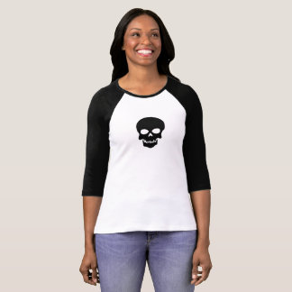 Black and white skull T-Shirt