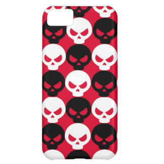 Black and White Skulls iPhone 5 Case